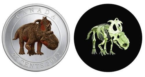 4. Glow-in-the-Dark Dinosaur Coin GÇô Canada