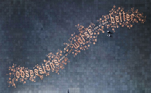 5. Sagmeister & Walsh – Obsessions Make My Life Worse and My Life Better